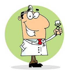 Happy Dentist Man vector image