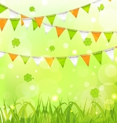 Holiday Background for St Patrick Day vector image