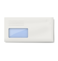 Dl envelope with window for address isolated vector