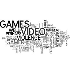 Are video games good a non gamer s perspective vector