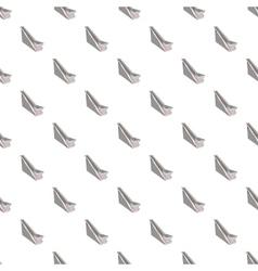 Conveyor belt pattern cartoon style vector