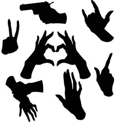 Hands image vector