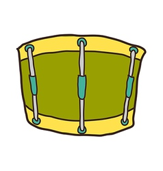 icon drum vector image vector image