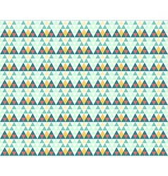 Triangles seamless pattern winter background vector image