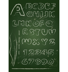 Abc blackboard 2 380 vector