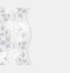 Abstract floral background for design vector