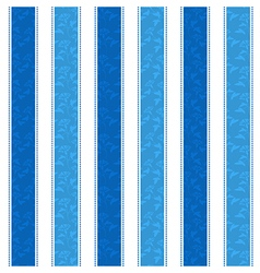 Blue Line Pattern Background vector image vector image