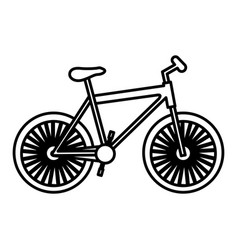 Figure bicycle transportation image vector