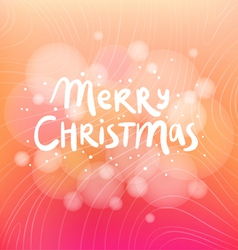 Merry Christmas colorful background card vector image vector image