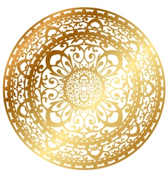 oriental rug vector image vector image