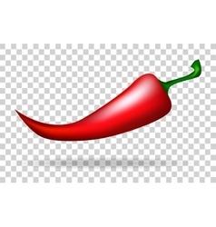 Red pepper food vegetarian food vector