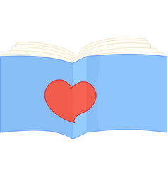 Sign i like read book vector