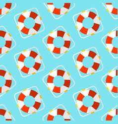Summer seamless pattern marine vector