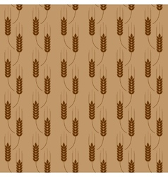 Pattern with wheat vector