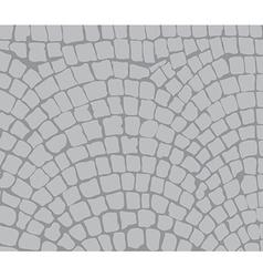 cobbles area vector image
