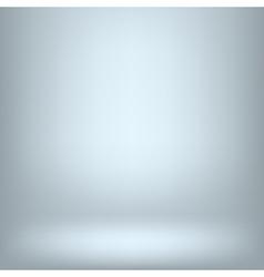 Empy blue interior vector image vector image