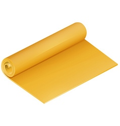 Rolled mat vector