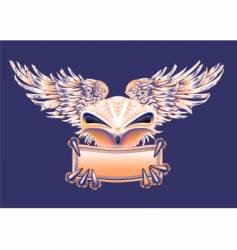 bird banner vector image