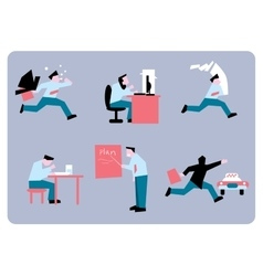 Office stress work vector