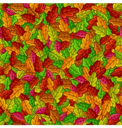 foliage pattern vector image vector image