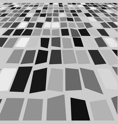 Gray and white geometric pattern vector