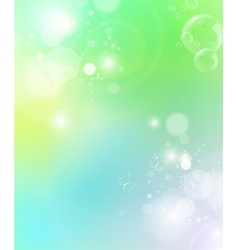 green ecological background vector image