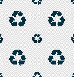 Processing icon sign seamless pattern with vector