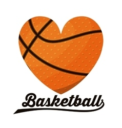 basketball sport design vector image
