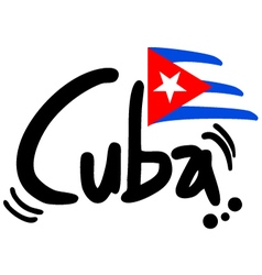 Cuba symbol vector