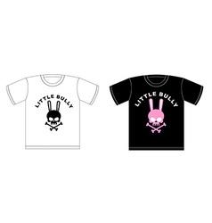 Emblem of little hooligans t-shirt design cute vector