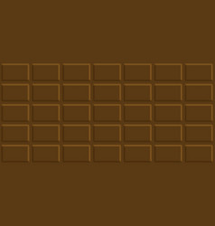 milk chocolate bar seamless pattern vector image vector image