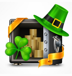 st patrick s day treasure vector image vector image