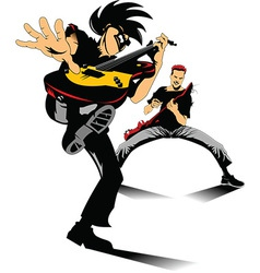 Cartoon musicians vector