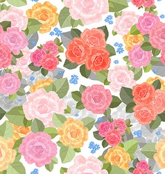 Seamless texture with lovely of roses for your vector