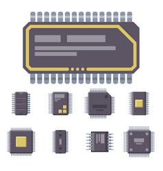 Cpu microprocessors microchip vector