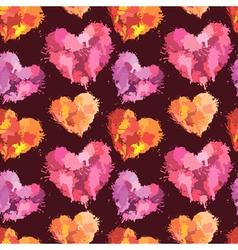 heart klaksa seaml 380 vector image