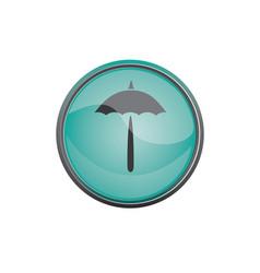 travel icon summer vacations umbrella vector image vector image