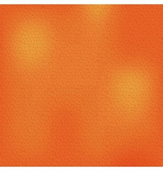 Orange Leather Background Texture vector image