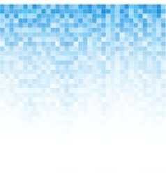 Digital abstract mosaic background vector image