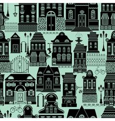 house black seaml 380 vector image