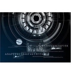 technological abstract metallic business vector image vector image