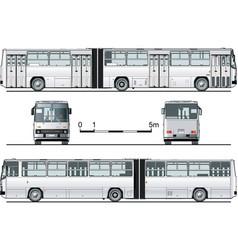 urban bus vector image vector image