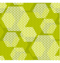 Concept modern geometry hexagone pattern with vector