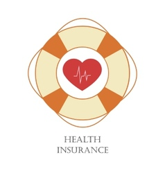 Health insurance sign vector