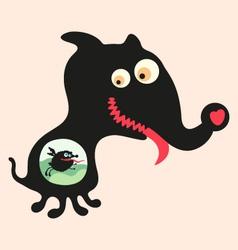 Happy monsters - set 16 vector