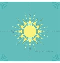 Solar compass vector
