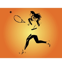 Large tennis vector