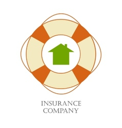 Insurance company sign vector