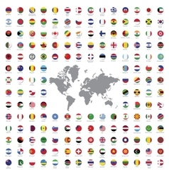 World flags all vector