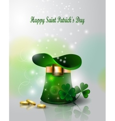 Background to the st patricks day vector